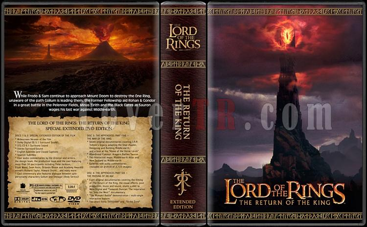 The Lord of the Rings Collection - Custom Dvd Cover Set - English [2001-2003]-rotkjpg