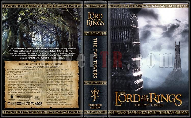 The Lord of the Rings Collection - Custom Dvd Cover Set - English [2001-2003]-tttjpg