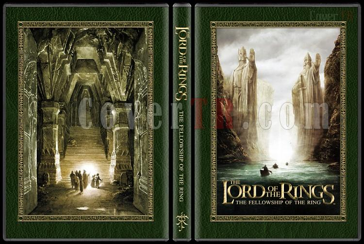 The Lord of the Rings Collection - Custom Dvd Cover Set - English [2001-2003]-1jpg