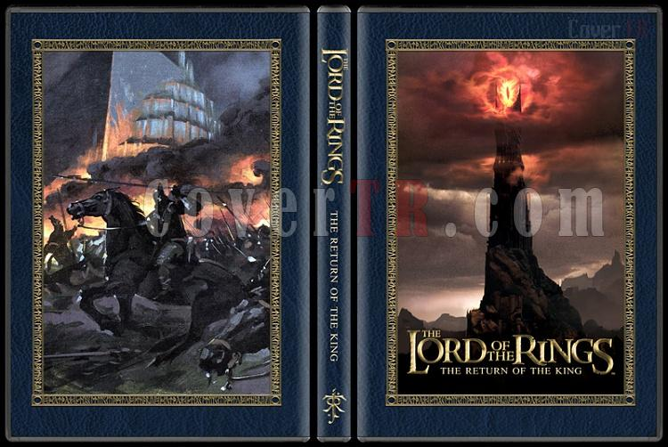 The Lord of the Rings Collection - Custom Dvd Cover Set - English [2001-2003]-3jpg