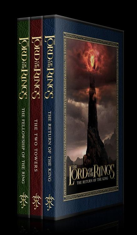 The Lord of the Rings Collection - Custom Dvd Cover Set - English [2001-2003]-11jpg