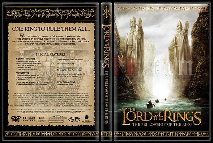 The Lord of the Rings Collection - Custom Dvd Cover Set - English [2001-2003]-1-1jpg