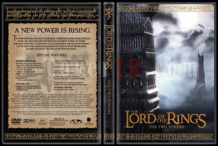 The Lord of the Rings Collection - Custom Dvd Cover Set - English [2001-2003]-1-2jpg