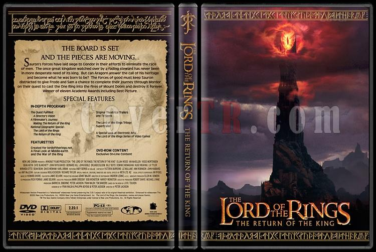 The Lord of the Rings Collection - Custom Dvd Cover Set - English [2001-2003]-1-3jpg