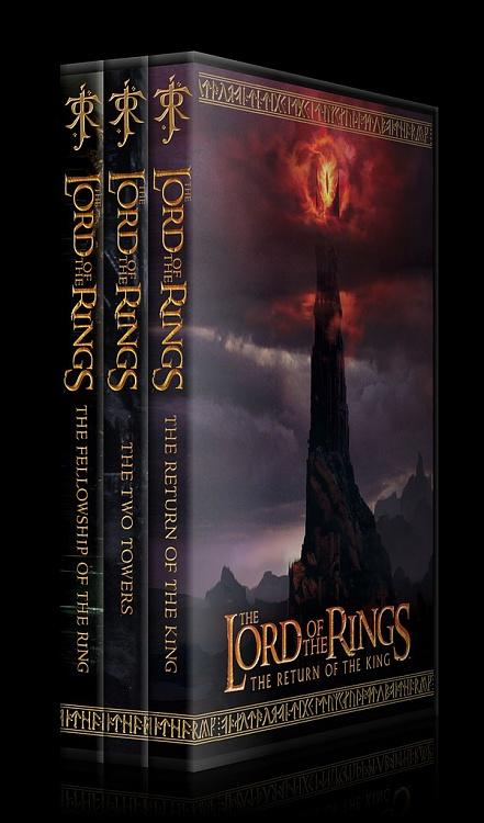 The Lord of the Rings Collection - Custom Dvd Cover Set - English [2001-2003]-22jpg