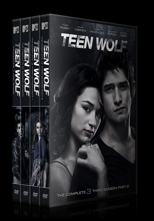 Teen Wolf (Genç Kurt) - Custom Dvd Cover Set - English [2011-?]-all-previewjpg