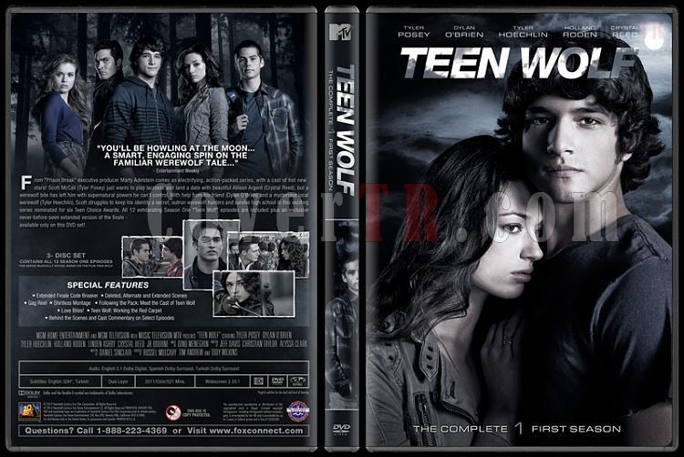 Teen Wolf (Genç Kurt) - Custom Dvd Cover Set - English [2011-?]-1jpg