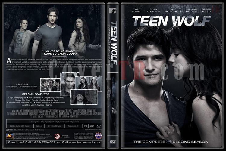 Teen Wolf (Genç Kurt) - Custom Dvd Cover Set - English [2011-?]-2jpg
