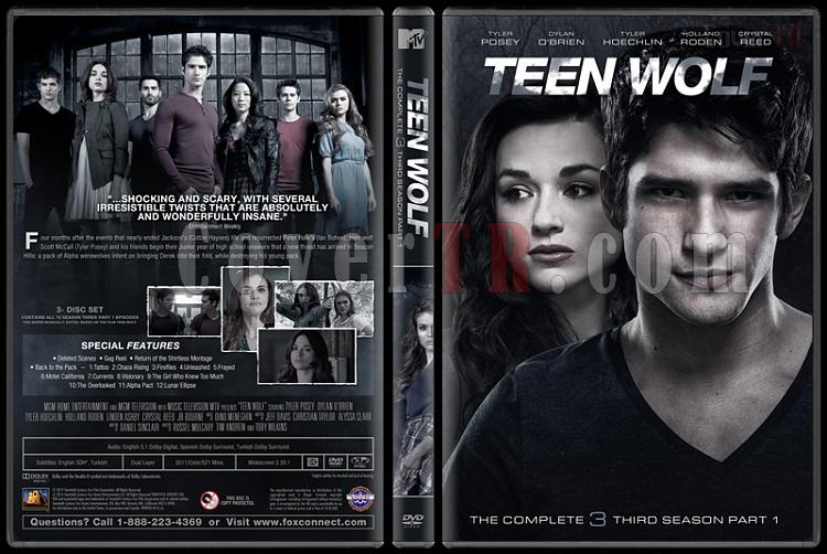 Teen Wolf (Genç Kurt) - Custom Dvd Cover Set - English [2011-?]-3jpg