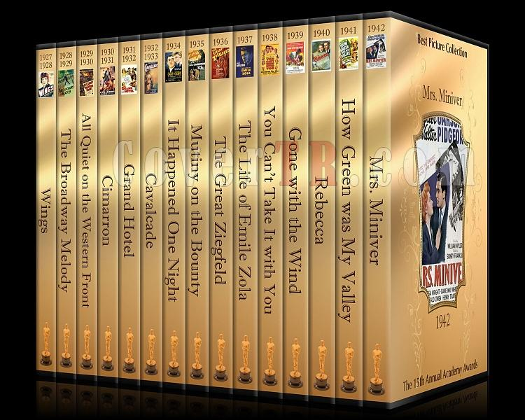 Best Picture Collection - Custom Dvd Cover Set - English [1927-2010]-1jpg