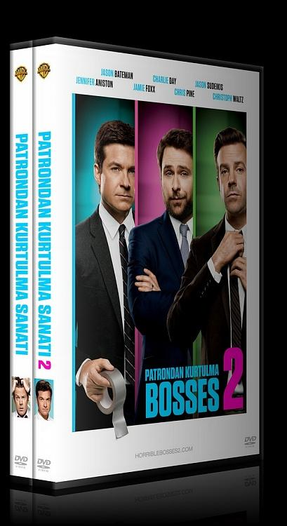 Horrible Bosses Collection (Patrondan Kurtulma Sanatı Koleksiyonu) - Custom Dvd Cover Set - Türkçe [2011-2014]-tr-previewjpg