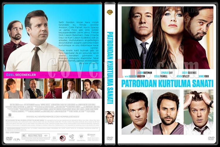 Horrible Bosses Collection (Patrondan Kurtulma Sanatı Koleksiyonu) - Custom Dvd Cover Set - Türkçe [2011-2014]-1jpg