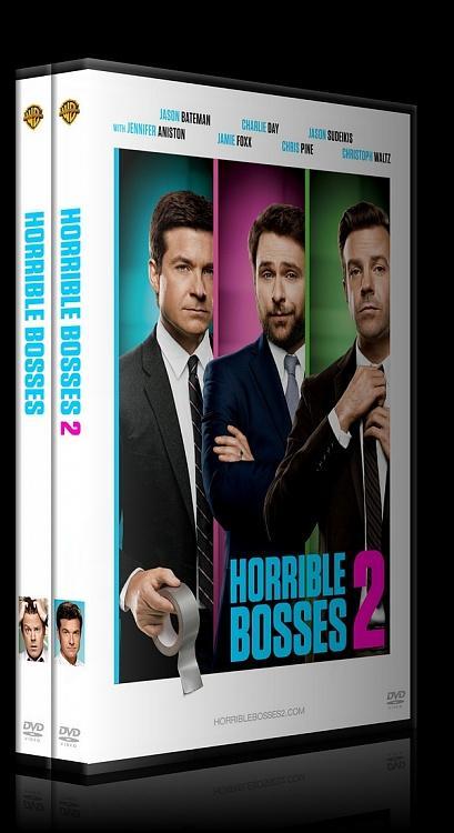 Horrible Bosses Collection (Patrondan Kurtulma Sanatı Koleksiyonu) - Custom Dvd Cover Set - English [2011-2014]-english-previewjpg