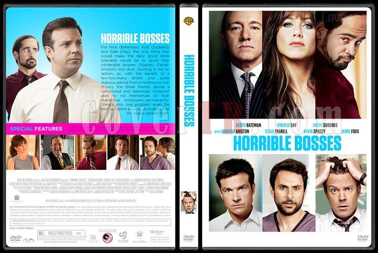 Horrible Bosses Collection (Patrondan Kurtulma Sanatı Koleksiyonu) - Custom Dvd Cover Set - English [2011-2014]-1jpg