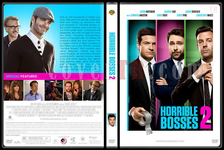 Horrible Bosses Collection (Patrondan Kurtulma Sanatı Koleksiyonu) - Custom Dvd Cover Set - English [2011-2014]-2jpg