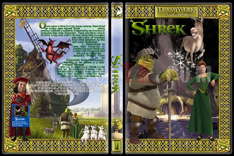 The Shrek Collection (Şrek Koleksiyonu) - Custom Dvd Cover Set - English [2001-2004-2007]-onizleme-2jpg