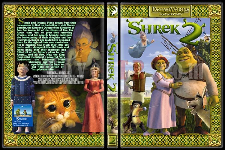 The Shrek Collection (Şrek Koleksiyonu) - Custom Dvd Cover Set - English [2001-2004-2007]-onizleme-3jpg