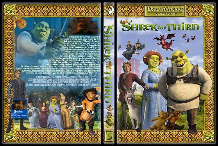 The Shrek Collection (Şrek Koleksiyonu) - Custom Dvd Cover Set - English [2001-2004-2007]-onizleme-4jpg