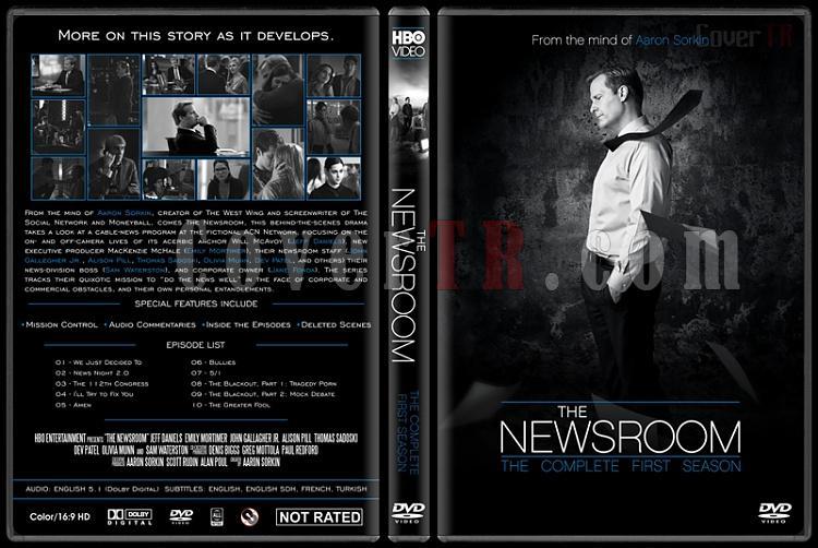 The Newsroom (Seasons 1-3) - Custom Dvd Cover Set - English [2012-2014]-newsroom-season-1-ctrjpg