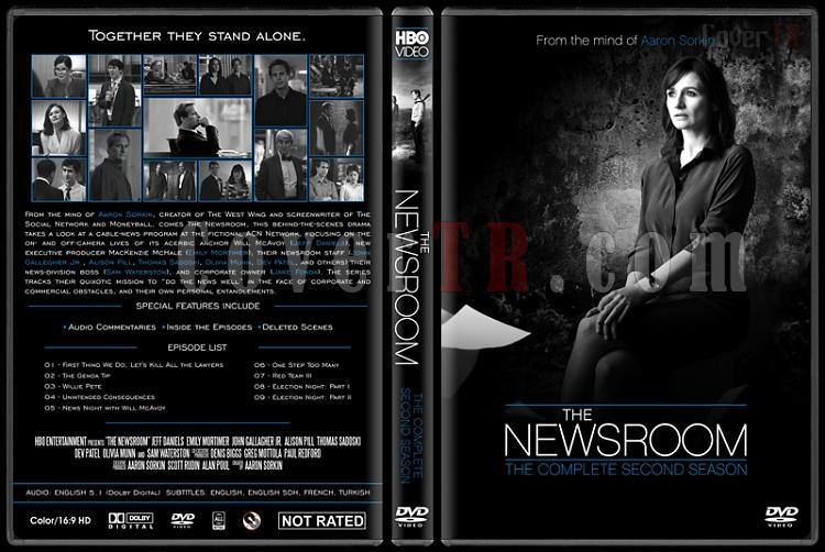 The Newsroom (Seasons 1-3) - Custom Dvd Cover Set - English [2012-2014]-newsroom-season-2-ctrjpg