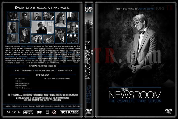 The Newsroom (Seasons 1-3) - Custom Dvd Cover Set - English [2012-2014]-newsroom-season-3-ctrjpg