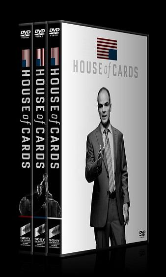 House of Cards (Seasons 1-3) - Custom Dvd Cover Set - English [2013-2015]-house-cards-1-3-ctrjpg