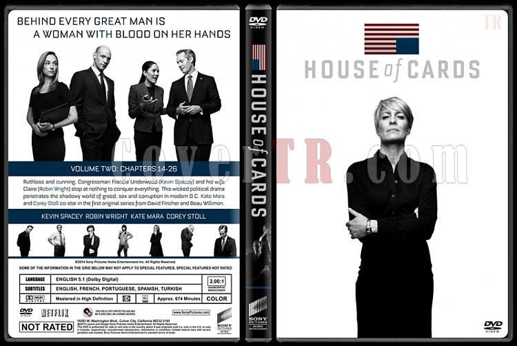 House of Cards (Seasons 1-3) - Custom Dvd Cover Set - English [2013-2015]-house-cards-season-2-ctrjpg