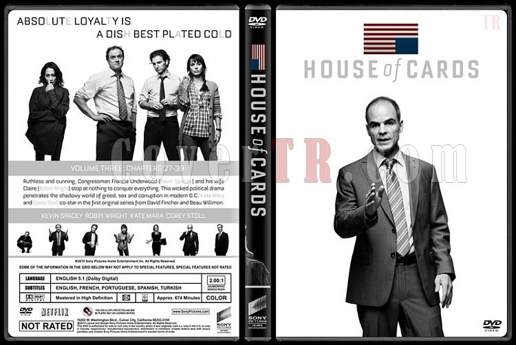 House of Cards (Seasons 1-3) - Custom Dvd Cover Set - English [2013-2015]-house-cards-season-3-ctrjpg