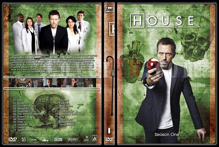 House M.D. Collection - Custom Dvd Cover Set - English [2004–2012]-1jpg