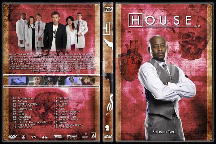 House M.D. Collection - Custom Dvd Cover Set - English [2004–2012]-2jpg