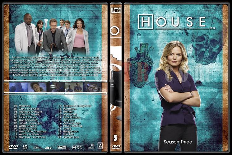 House M.D. Collection - Custom Dvd Cover Set - English [2004–2012]-3jpg