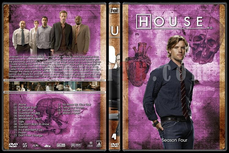 House M.D. Collection - Custom Dvd Cover Set - English [2004–2012]-4jpg