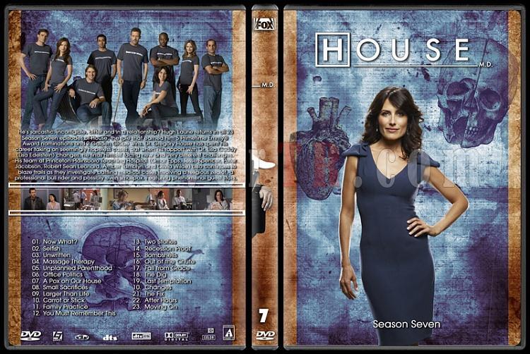 House M.D. Collection - Custom Dvd Cover Set - English [2004–2012]-7jpg