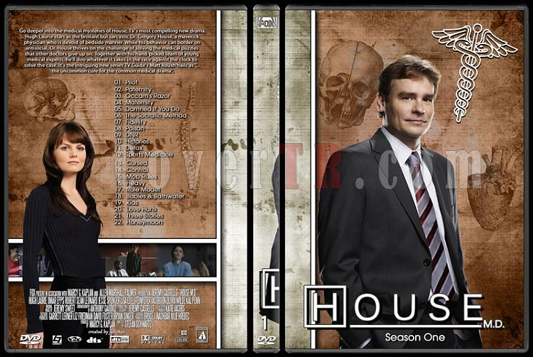 House M.D. Collection - Custom Dvd Cover Set - English [2004–2012]-1jpg