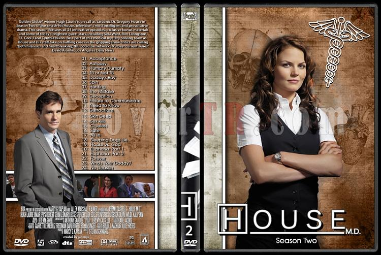 House M.D. Collection - Custom Dvd Cover Set - English [2004–2012]-2jpg