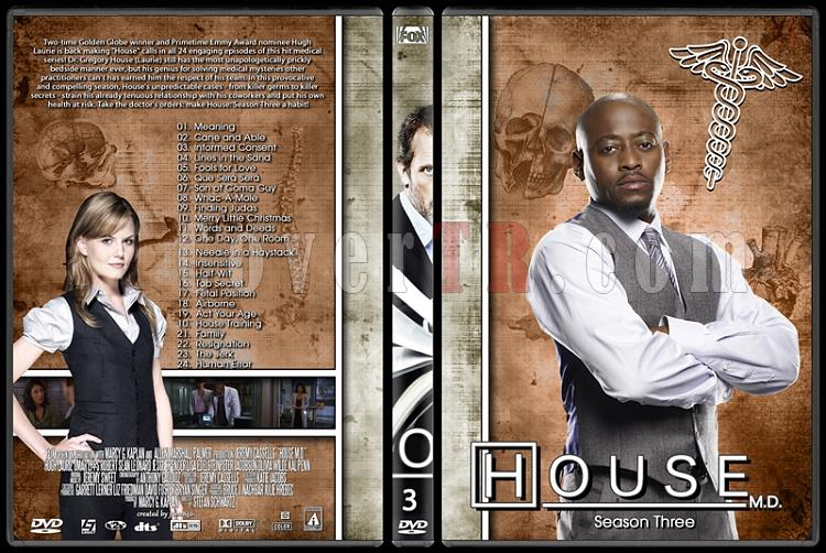 House M.D. Collection - Custom Dvd Cover Set - English [2004–2012]-3jpg