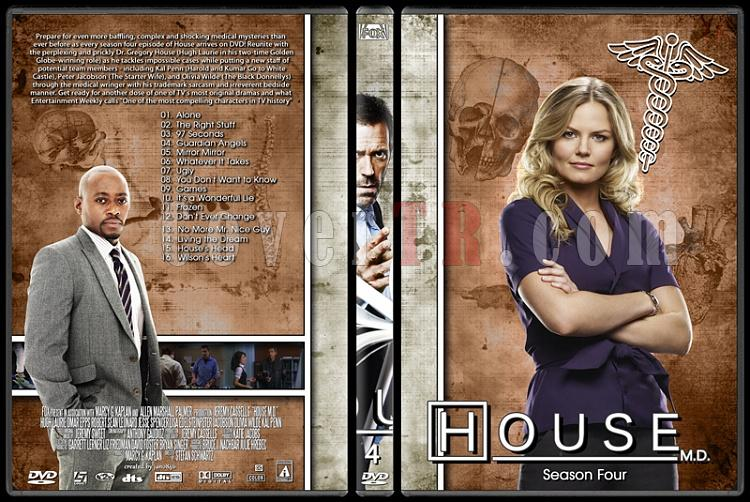 House M.D. Collection - Custom Dvd Cover Set - English [2004–2012]-4jpg