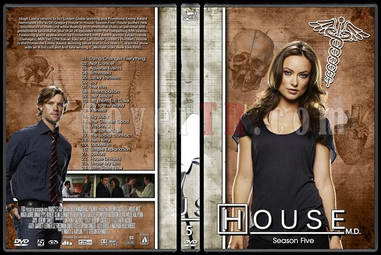 House M.D. Collection - Custom Dvd Cover Set - English [2004–2012]-5jpg