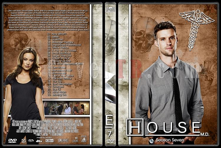 House M.D. Collection - Custom Dvd Cover Set - English [2004–2012]-7jpg