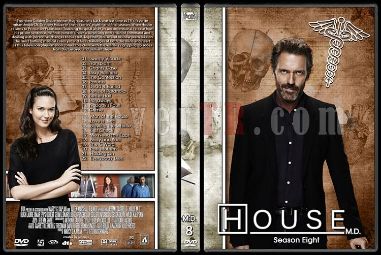 House M.D. Collection - Custom Dvd Cover Set - English [2004–2012]-8jpg