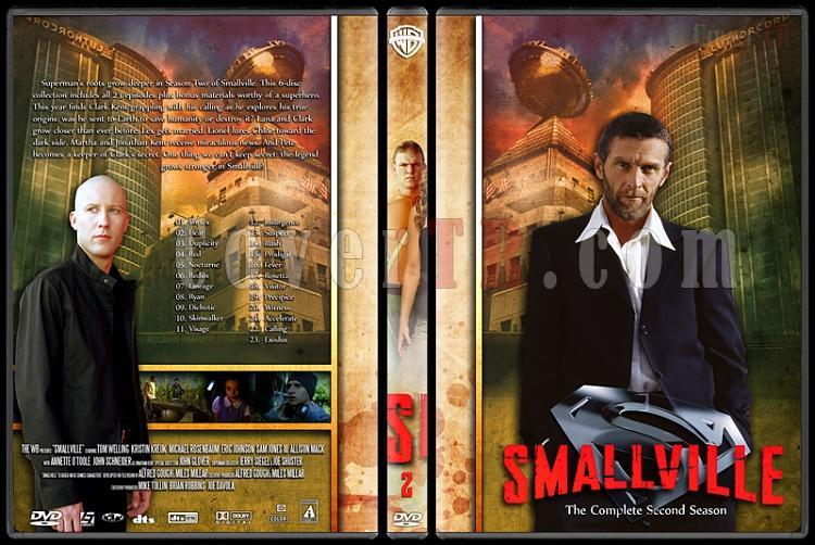 Smallville Collection - Custom Dvd Cover Set - English [2001-2011]-2jpg