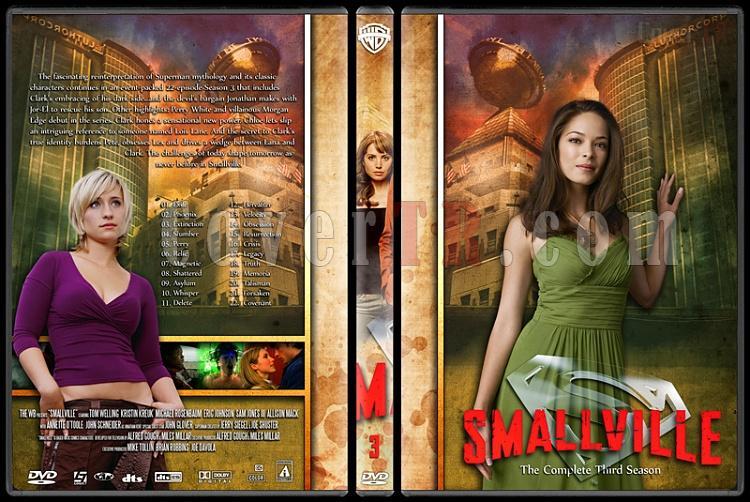 Smallville Collection - Custom Dvd Cover Set - English [2001-2011]-3jpg