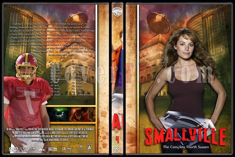 Smallville Collection - Custom Dvd Cover Set - English [2001-2011]-4jpg