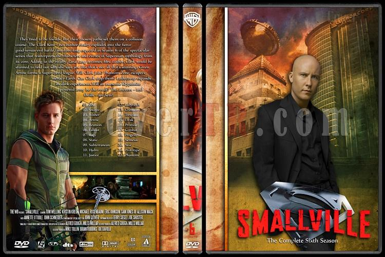 Smallville Collection - Custom Dvd Cover Set - English [2001-2011]-6jpg