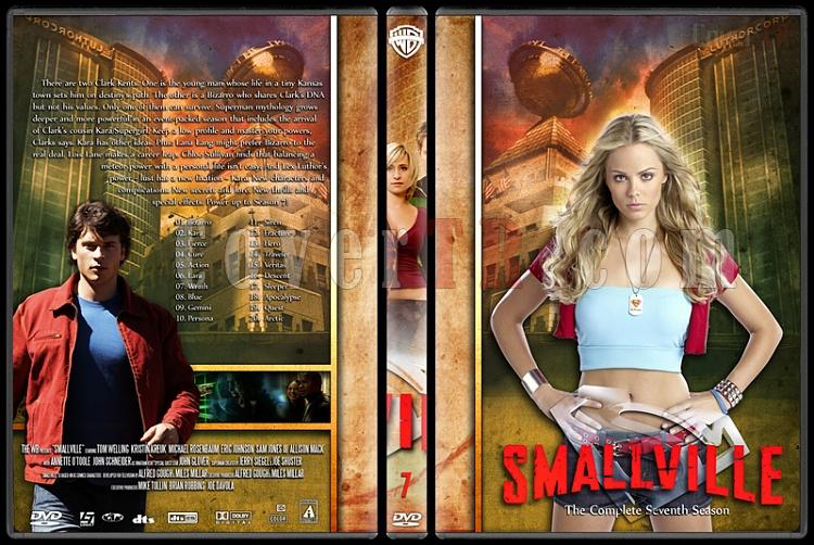 Smallville Collection - Custom Dvd Cover Set - English [2001-2011]-7jpg