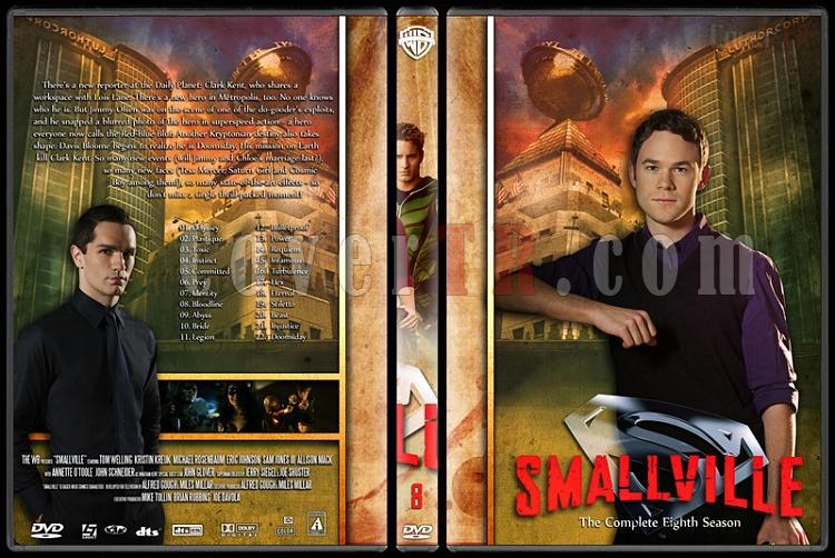 Smallville Collection - Custom Dvd Cover Set - English [2001-2011]-8jpg