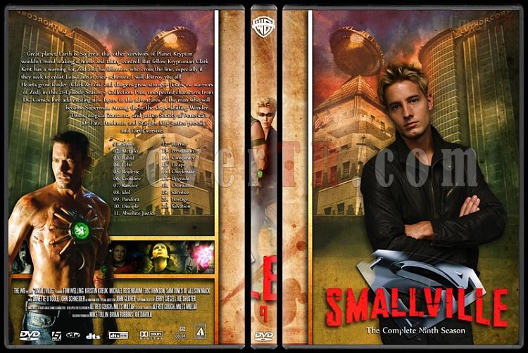 Smallville Collection - Custom Dvd Cover Set - English [2001-2011]-9jpg