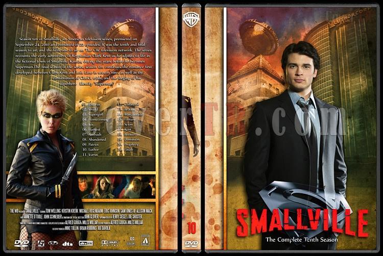 Smallville Collection - Custom Dvd Cover Set - English [2001-2011]-10jpg
