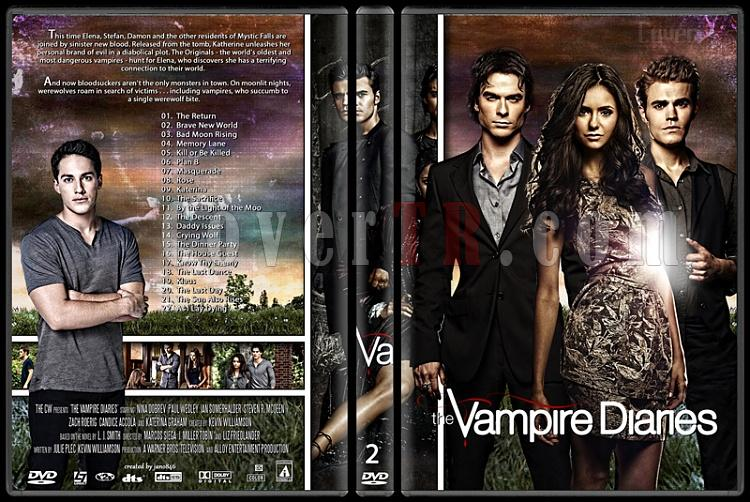 The Vampire Diaries (Seasons 1-5) - Custom Dvd Cover Set - English [2009-?]-2jpg