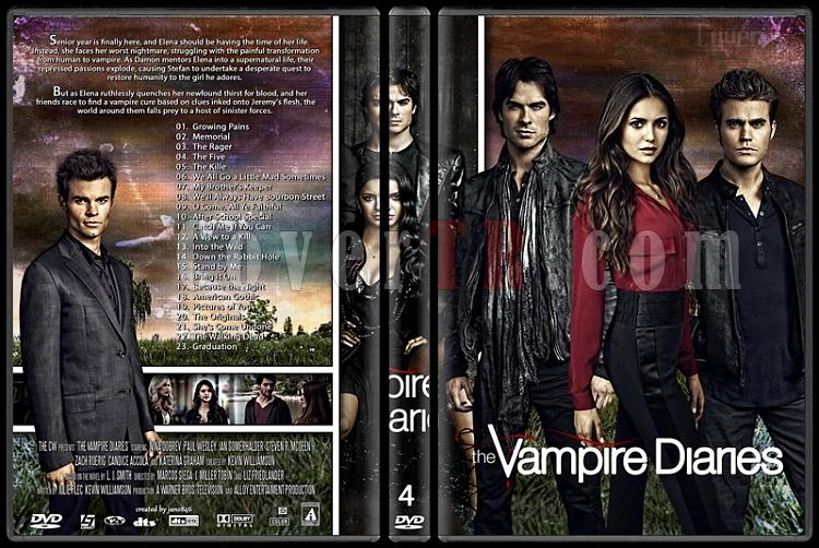 The Vampire Diaries (Seasons 1-5) - Custom Dvd Cover Set - English [2009-?]-4jpg